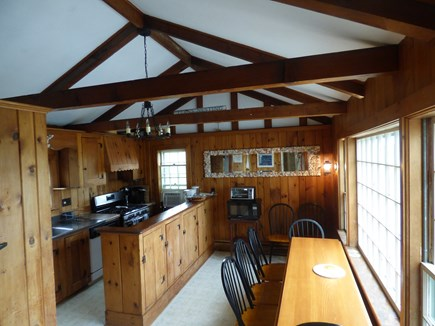 Chatham Cape Cod vacation rental - Kitchen with table for 8