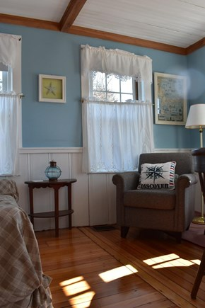 West Yarmouth Cape Cod vacation rental - Seating area
