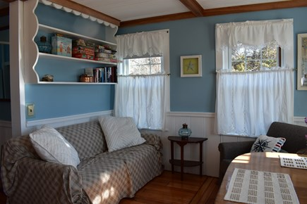 West Yarmouth Cape Cod vacation rental - Conversation nook with additional dining table for meals or games