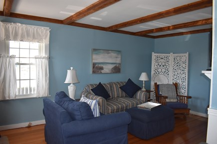 West Yarmouth Cape Cod vacation rental - Living room with flat screen tv