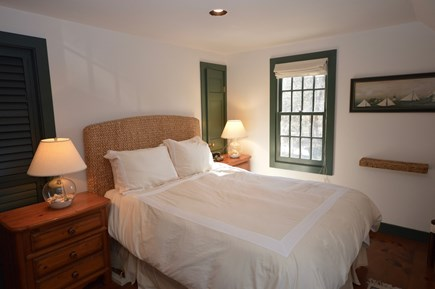 Orleans Cape Cod vacation rental - Main House Master queen bedroom with sitting room