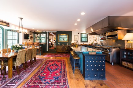 Orleans Cape Cod vacation rental - Gorgeous chef`s kitchen with commercial range and plenty of seati