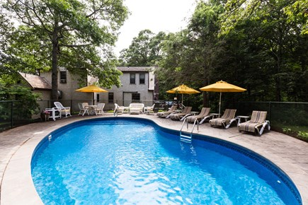 Orleans Cape Cod vacation rental - Heated pool in the privacy of the backyard