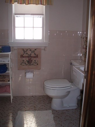 South Yarmouth Cape Cod vacation rental - Bathroom - An awkward room to picture. :)