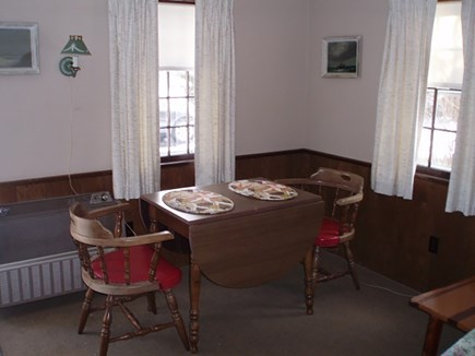South Yarmouth Cape Cod vacation rental - Dinette - A quiet corner for dinner and a card game.