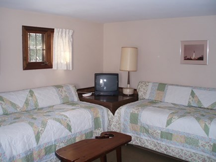 South Yarmouth Cape Cod vacation rental - Two Twin beds for comfy nights - doubling as couches.