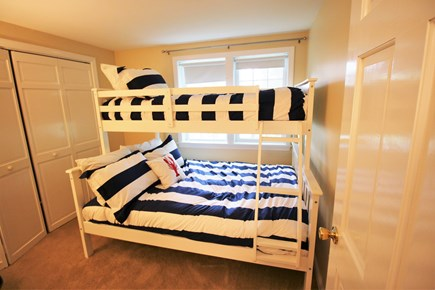 Chatham Cape Cod vacation rental - Twin over full bunk bed in the third bedroom.