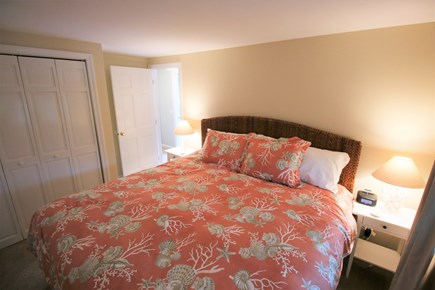 Chatham Cape Cod vacation rental - The second bedroom in the main house with a king bed.