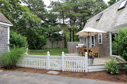 Chatham Cape Cod vacation rental - Fully fenced in backyard with great privacy and seclusion.