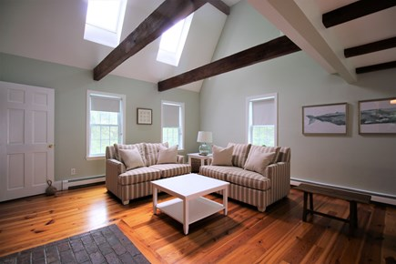 Chatham Cape Cod vacation rental - The spacious living room with plenty of seating.
