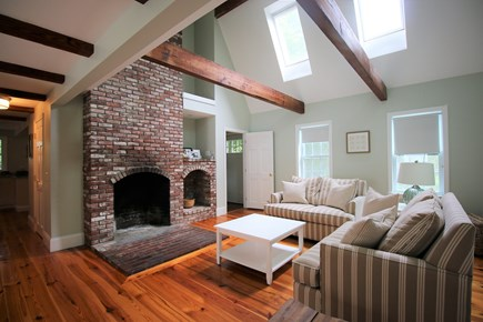 Chatham Cape Cod vacation rental - A fireplace for cold, off season nights.