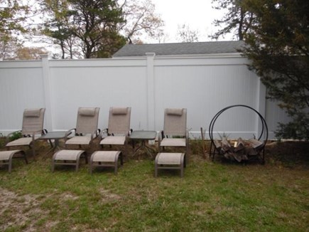 East Falmouth Cape Cod vacation rental - Chairs