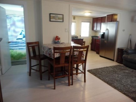 East Falmouth Cape Cod vacation rental - Open dining area, views to the bathroom and kitchen