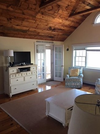 New Seabury Cape Cod vacation rental - Living Room with French Doors to Patio