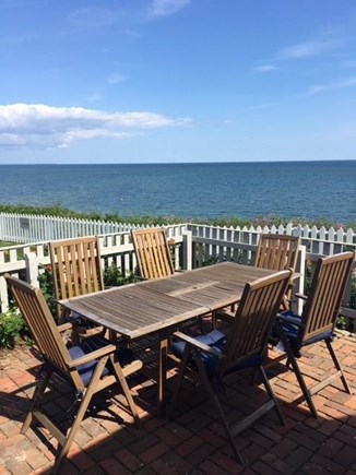 New Seabury Cape Cod vacation rental - Patio view of  Nantucket Sound