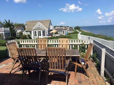 New Seabury Cape Cod vacation rental - Patio view to beach access