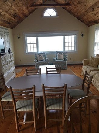 New Seabury Cape Cod vacation rental - Living Room & Dining Room with ocean views