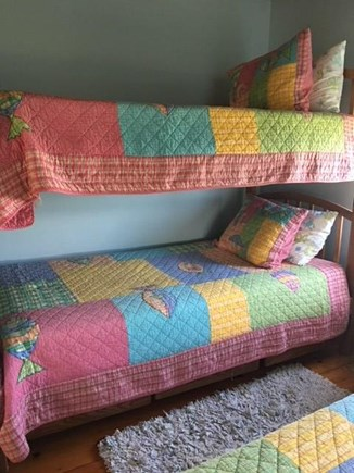 New Seabury Cape Cod vacation rental - Kids bedroom - Bunk beds