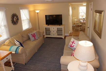 West Yarmouth Cape Cod vacation rental - Large new smart tv with cable
