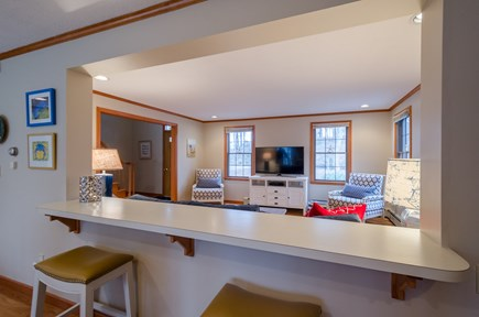 New Seabury, Mashpee New Seabury vacation rental - Opening to Kitchen -Two Counters with four stools