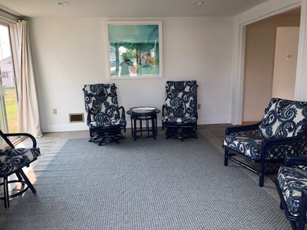Falmouth Cape Cod vacation rental - Sun room perfect for drinking coffee and wine