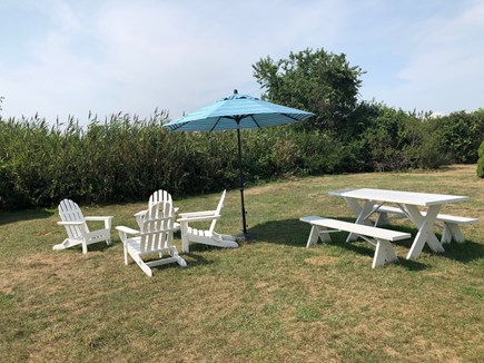 Falmouth Cape Cod vacation rental - Enjoy the ocean breezes and stargazing from the backyard