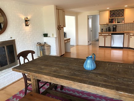 Falmouth Cape Cod vacation rental - Open dining / kitchen area for easy entertaining; new appliances