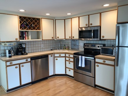 Falmouth Cape Cod vacation rental - Kitchen with new appliances and all new kitchen wares