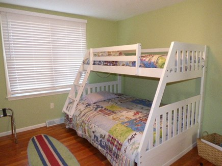Dennis Cape Cod vacation rental - 1st floor bedroom double on the bottom and twin on top