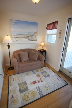 North Truro Cape Cod vacation rental - Pullout for extra guests in the loft