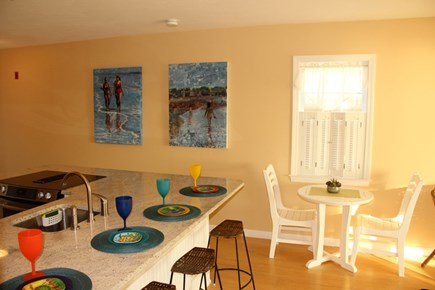 North Truro Cape Cod vacation rental - Seating for 6