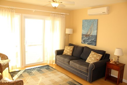 North Truro Cape Cod vacation rental - Comfortable fold out sofa (Queen size) Perfect for teenagers.
