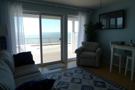 North Truro Cape Cod vacation rental - Living Room