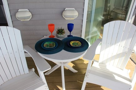 North Truro Cape Cod vacation rental - Lunch on the beach