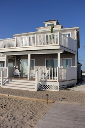 North Truro Cape Cod vacation rental - Built in 2009 right on the beach!