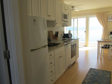 North Truro Cape Cod vacation rental - Galley kitchen