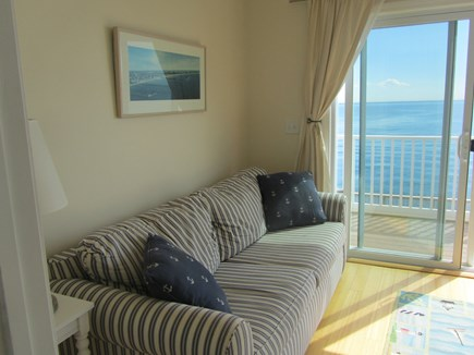 North Truro Cape Cod vacation rental - Comfy convertible sofa