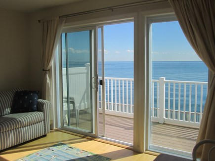 North Truro Cape Cod vacation rental - Spacious deck on the water!