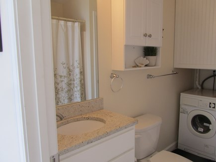 North Truro Cape Cod vacation rental - Bath with laundry
