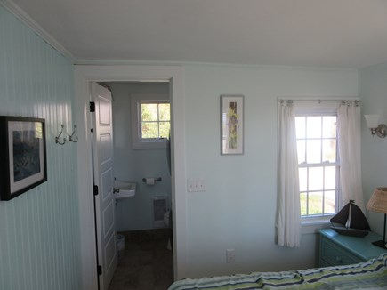 Wellfleet Cape Cod vacation rental - En suite bathroom with washer/dryer