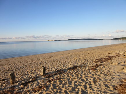 Wellfleet Cape Cod vacation rental - Mayo Beach with view of Great Island Trail across the water