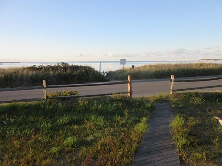 Wellfleet Cape Cod vacation rental - Steps to the beach from Old Salt's front door