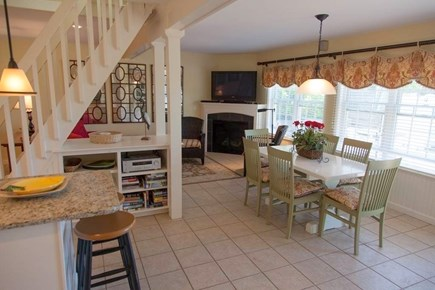 Eastham Cape Cod vacation rental - Dining/Living