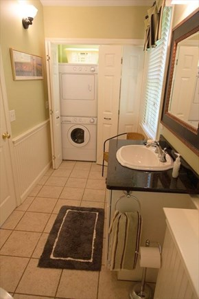 Eastham Cape Cod vacation rental - Washer/Dryer in Bathroom