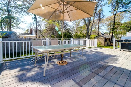 Barnstable Cape Cod vacation rental - Enjoy the sunshine spending time outside on the deck
