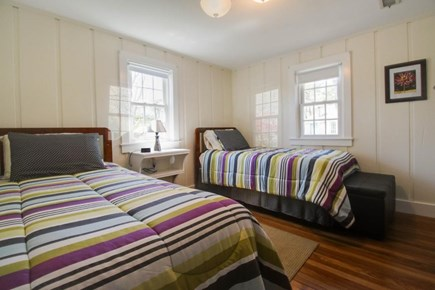 Barnstable Cape Cod vacation rental - Main level bedroom with two twin beds