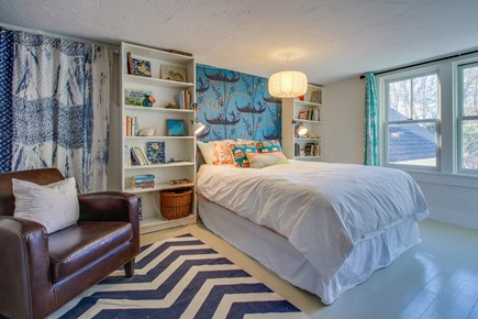 Wellfleet Cape Cod vacation rental - Get a good night sleep in this queen size bed.