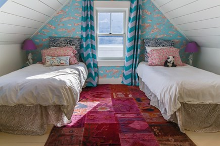 Wellfleet Cape Cod vacation rental - There is room for 2 in this room with twin sized beds.