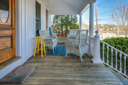 Wellfleet Cape Cod vacation rental - Sip your morning coffee on the front porch.