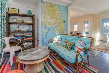 Wellfleet Cape Cod vacation rental - Curl up with a good book in the sitting room.